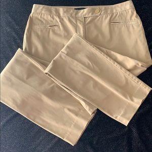 Talbots size 10 signature ankle pants tan